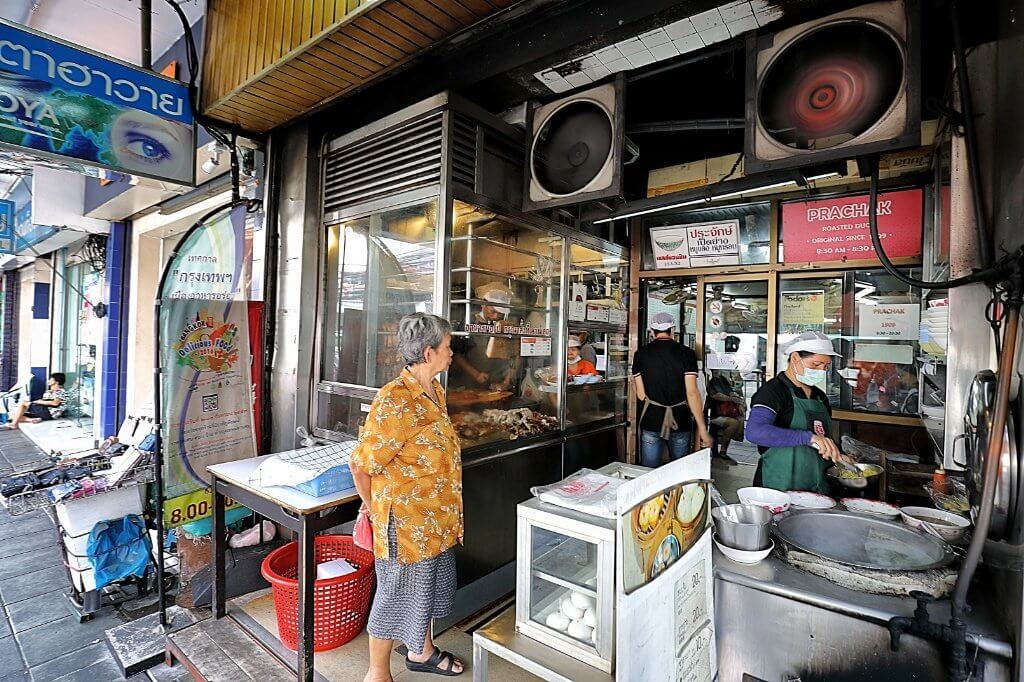 Bangkok food scene