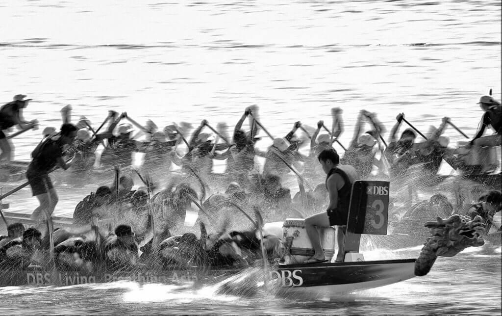 DBS Marina Regatta 2017 - Dragon Boat Competition