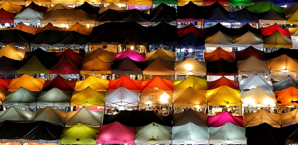 Most Photogenic Night Market Bangkok Rod Fai Train Market Ratchada
