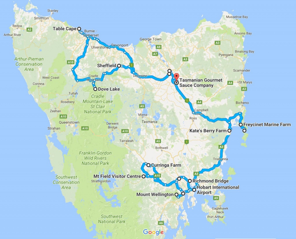Tasmania Convoy Self-drive Adventure September 2017