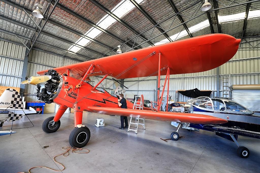 Vintage Biplane Aerial Adventure in New South Wales, Australia
