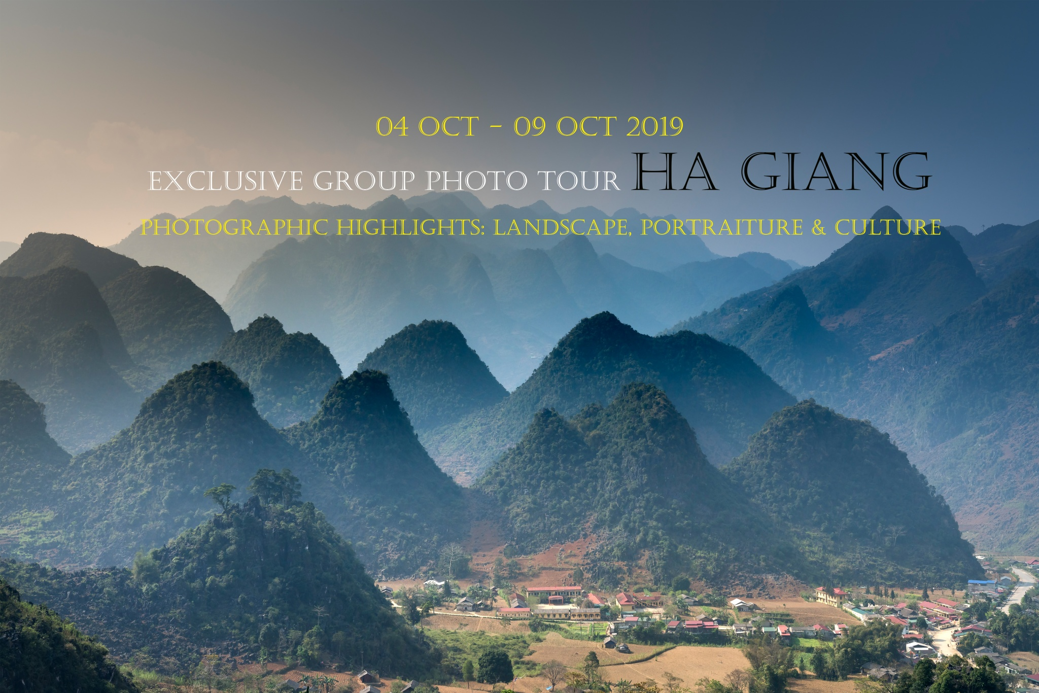 5 Nights Ha Giang Landscape and Culture Travel Photography (Oct 2019)