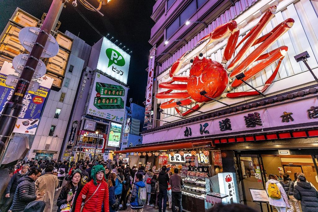 Family vacation Kyoto Osaka
