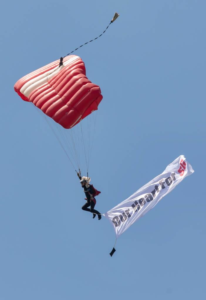 Singapore Red Lions Parachute Team